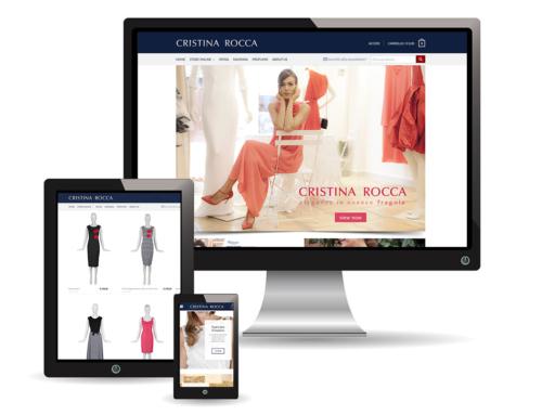 Cristina Rocca Ravenna | sito web e-commerce
